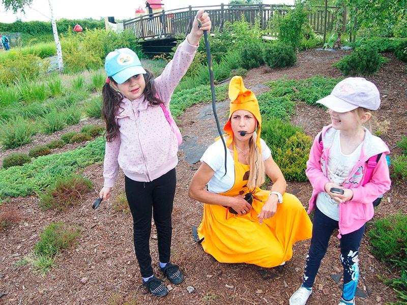 Wycieczka do magicznych ogrodów 2016